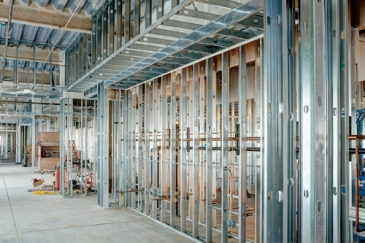Commercial Construction Framing Walls in Austin, TX