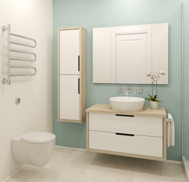 Small Bathroom Remodeling Tip in Austin