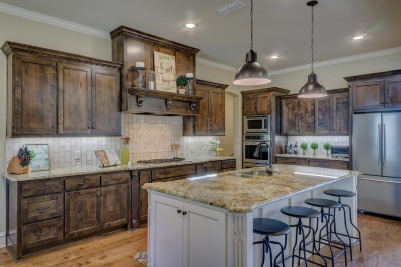 Kitchen Remodeling, Kitchen Cabinets, and Kitchen Design by General Contractor in Pflugerville, TX